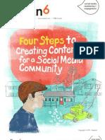 Cuatro pasos para la creación de contenidos en Comunidad de Social Media
