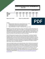 Stock Report Draft