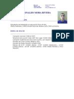 Curriculum Raul Mora