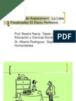 PresentacionListaFocalizadayDiarioReflexivo