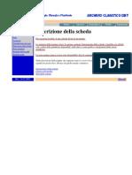 Scheda ENEA Profilo Climatico