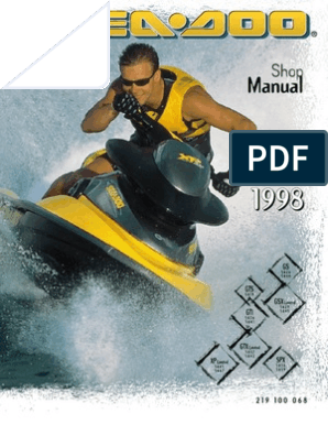 1998 Sea-Doo Service Manual(2) | Carburetor | Motor Oil