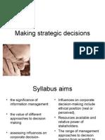 11_Making Strategic Decisions