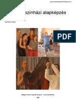 Playback-színházi alapképzés - Tarr Bence László - Oberth József - Parádi József