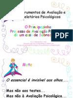 Instrumentos de Avaliacao e Relatorios Psicologicos
