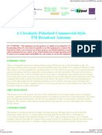 Commercial-Style CP Dipole FM