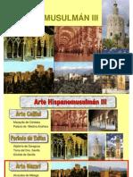 Arte Hispanomusulmán III - ARTE NAZARÍ - ALHAMBRA