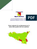 Piano regionale di coordinamento per la Tutela e qualità dellaria ambiente COPIATO