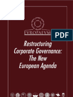 Restructuring Corporate Governance