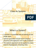 Cities as Systems