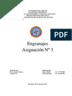 ASIGNACIÓN 3 (ENGRANAJE)