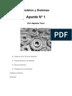 Modelos y Sistemas Apunte Nro 1
