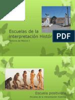 Escuelas de la interpretación Histórica