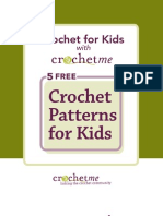 5 Free Kids Crochet Patterns