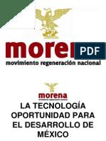 LA TECNOLOGÍA OPORTUNIDAD PARA EL DESARROLLO DE MÉXICO