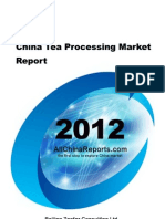 China Tea Processing Market Report