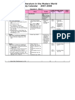 A319 Study Calendar 2007-2008 Semester 1  MR.JEHAD 65549105