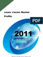 China Tractor Market Profile