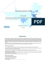 China Glass Industry Profile Isic2610