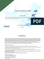 China Fish Industry Profile Isic1512