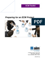 Preparing for an ECM Project Toolkit
