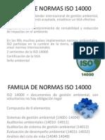 Familia de Normas Iso 14000