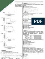Prova a - Biologia-Quimica 2011-2