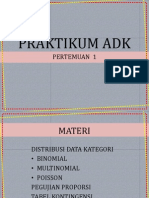 Analisis Data Kategori
