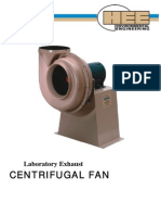 Laboratory Exhaust Centrifugal Fan