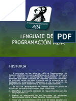 LENGUAJE DE PROGRAMACIÓN ADA
