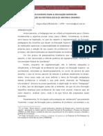 FORMAÇÃO DOCENTE PARA A EDUCAÇÃO SUPERIOR CONTRIBUIÇÃO DA METODOLOGIA DE ANTONIO GRAMSCI