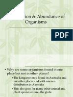Lec 3 - Distribution and Abundance