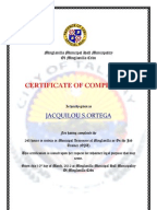 Ojt certificate food retailers food retailing certificate of completioncojt yadclub Image collections