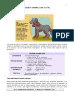 Modos de Organizacion Textual