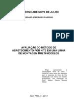 AVALIAÇÃO DE KITS PARA LINHAS DE MONTAGEM ARTIGO