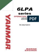 Yanmar Marine Engine 6LPA-STP2, 6LPA-STZP2 Service Repair