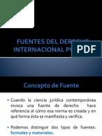 FUENTES DEL DERECHO INTERNACIONAL PÚBLCIO