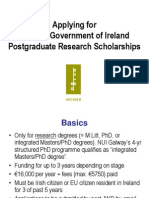 Applying for Irchss Postgrad Scholarship 2011 (1)