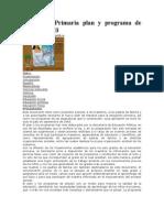 Educación Primaria plan y programa de estudios 1993