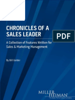 Chronicles of a Sales Leader