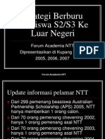 Strategi Berburu Beasiswa NTT