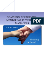 Coaching, Counseling, Mentoring & Future HRD Managers