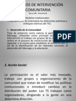 Calse 7. Modelos de Intervencin Com Unit Aria - Copia