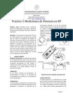 Mediciones de potencia RF