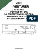 Motorhome Parts Manual