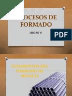 6. PROCESOS DE FORMADO