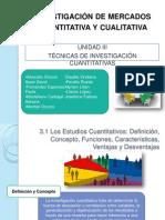 Unidad III.- Tecnicas de Investigacion Cuantitativas Casi Completo