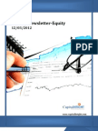 Weekly Equity Newsletter 12-03-2012