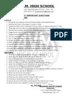 Social Studies Paper -I