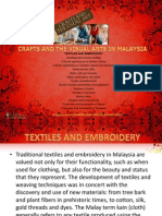 05e Crafts and the Visual Arts in Malaysia-textiles and Embroidery